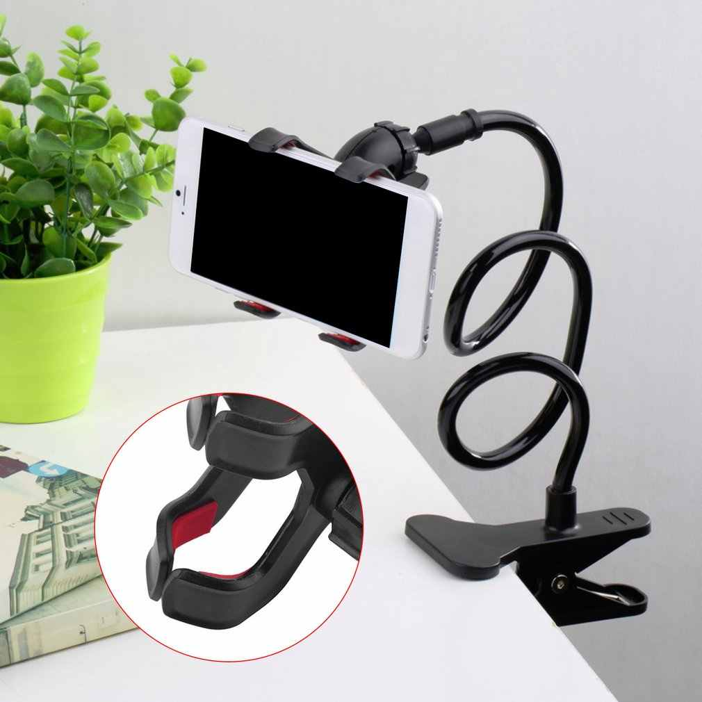 Kaiyitong Mobile Phone Holder Bedside Lazy Bracket Universal Lazy Installation Flexible Long Arm Bracket For 4-6 Inch Mobile Phone Creative Multifunctional Dormitory Bed With T Mobile Phone Holder