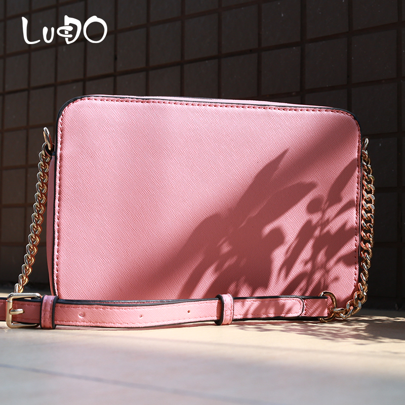 Luxury Handbags Cross Pattern Leather Women Hand Bags Designer Ladies Crossbody Bags For Women 2020 Chain Shoulder Messenger Bag