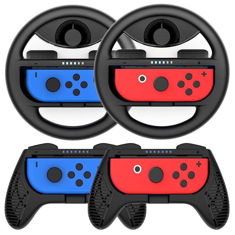 Гоночное рулевое колесо Nintendo Switch ручки контроллера Захваты Nintendo Joycon колпачки для Nintendo Switch NS Gamepa игровые аксессуары