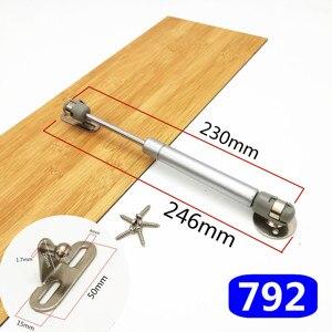 Image 5 - Bisagra para muebles de 8 pulgadas, 30N/100N, soporte neumático de elevación de puerta, resorte de Gas hidráulico, retención neumática