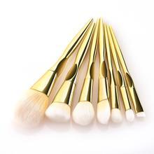 7pcs Professional Makeup Pen Gradient Makeup Brushes Eyeshadow Loose  Make up Brushes Powder Cosmetic Blush Pincel Maquiagem 7pcs gradient ramp mermaid tail makeup brushes set