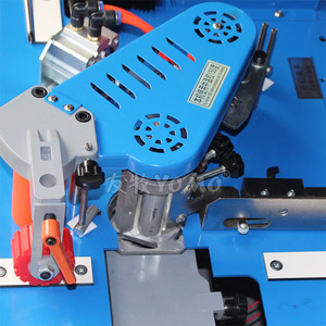 Image 4 - New upgraded MY70 wood edge banding machine with edge trimmer trimming cutting woodworking edge bander 45kg