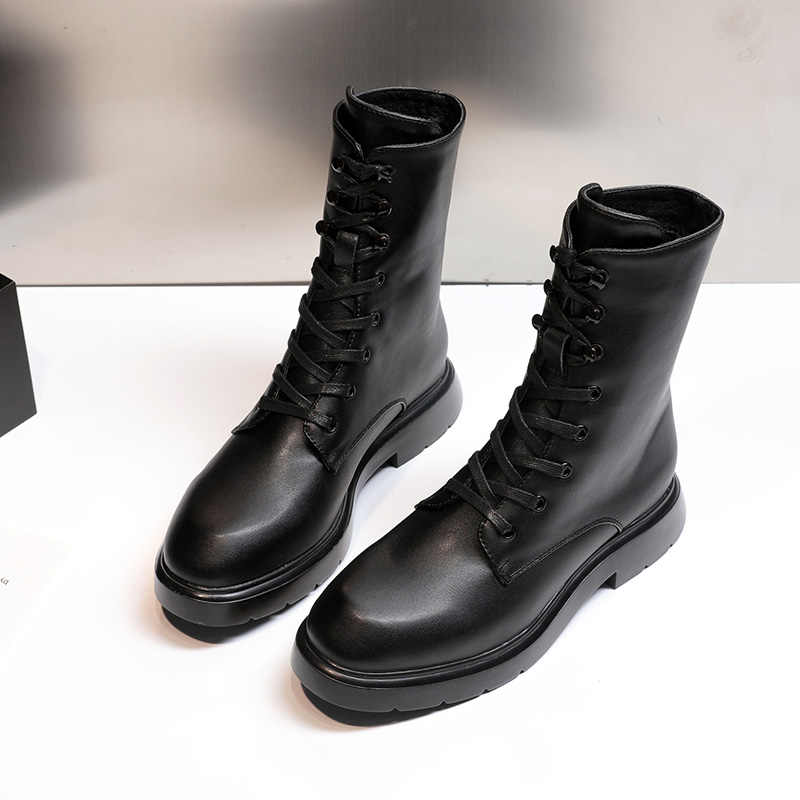 AIYUQI 2020 yeni Martin çizmeler kadın vahşi sonbahar kadın motosiklet botları botları İngiliz fan çizmeler kısa çizmeler kadın