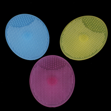 1PCS Silicone Cleanser Pads Face Wash Brush Exfoliating Cleansing Blackhead Remover Skin Care Tools