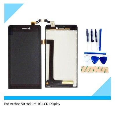 ЖК-дисплей для Archos 50 Helium 4G + сенсорный экран + инструменты дигитайзер в сборе Сменные аксессуары для телефона 5,5 дюйма