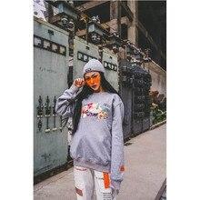 Hoodie Men Women Heron Preston Grey Sweatshirts Fruits Logo Print  Hoodies worthy Pullover HP Streetwear
