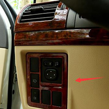 For Toyota Land Cruiser Prado 150 LC150 FJ150 2010-2017 ABS plastic Interior Fog Lamp Switch Cover Trim Car Styling Accessories for toyota land cruiser prado fj150 lc150 2010 2017 abs matte rear air conditioning vent outlet cover trim car styling accessory