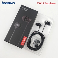 Neue Original Lenovo thinkplus TW13 3,5mm Stereo Bass Kopfhörer Ohrhörer Headset Für Xiaomi Samsung HUAWEI iPhone MP3 MP4 mit box