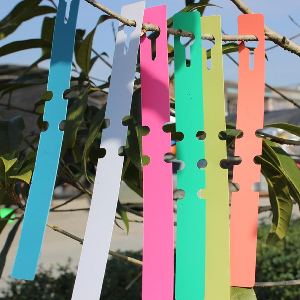 100pcs PVC Nursery Premium Label Plastic Plant Type Label Garden Plant Pot Planter Vegetable Label Tag