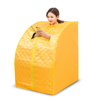 Steam Sauna Weight Loss for Detox Therapy and best Personal Portable Sauna Room Folding Chair Cabin Room Sauna heater
