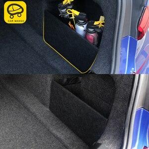 CarMango для BMW 3 серии G20 2020 автомобильный Стайлинг багажника задние стопоры Блок Pad космический Органайзер Коробка Для Хранения Чехол аксессуа...