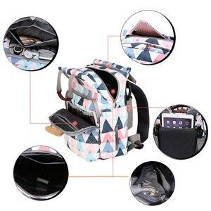 Image 5 - Múmia mochila grande capacidade maternidade fralda do bebê bolsa de viagem tote designer de enfermagem saco de carrinho de fraldas para cuidados com a mãe bebe