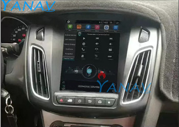 Android car audio GPS navigation For-Ford Focus 2012-2016 car stereo autoradio multimedia DVD player HD Vertical touch screen image