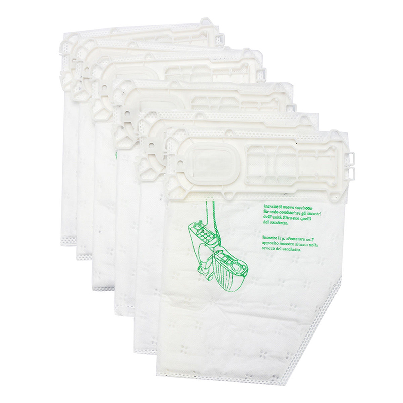 12pcs Replacement Non-woven Filter Dust Bags for Vorwerk VK//FP135//136//Kobold369