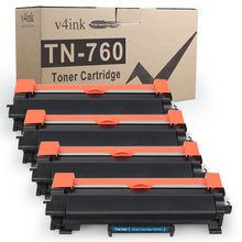 Тонер картридж v4ink tn760 tn730 tn2480 для замены brother hl