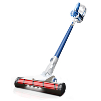 blue-TINTON LIFE VC812 Portable 2 In 1 Handheld Wireless Vacuum Cleaner