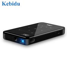 DLP 2021 Full HD Mini projektor Android 9 0 LPDDR4 2GB 16GB przenośny 4K projektor Wifi Bluetooth bateria wideo Beamer PK C6 tanie tanio ViviBright Automatyczna korekcja CN (pochodzenie) 16 10 50 ANSI 854x480 dpi P09 DLP Projector Other 2000 01 00 projektor do filmów
