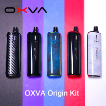 Original OXVA Origin Starter Kit 40W Pod Vape Pen powered by 18650 battery with 3ML Atomizer MTL DTL Vape Kit new arrival smok slm kit electronic cigarette mini vape pen pod kit with 250mah battery 0 8ml pod coils vaporizer vs infinix kit