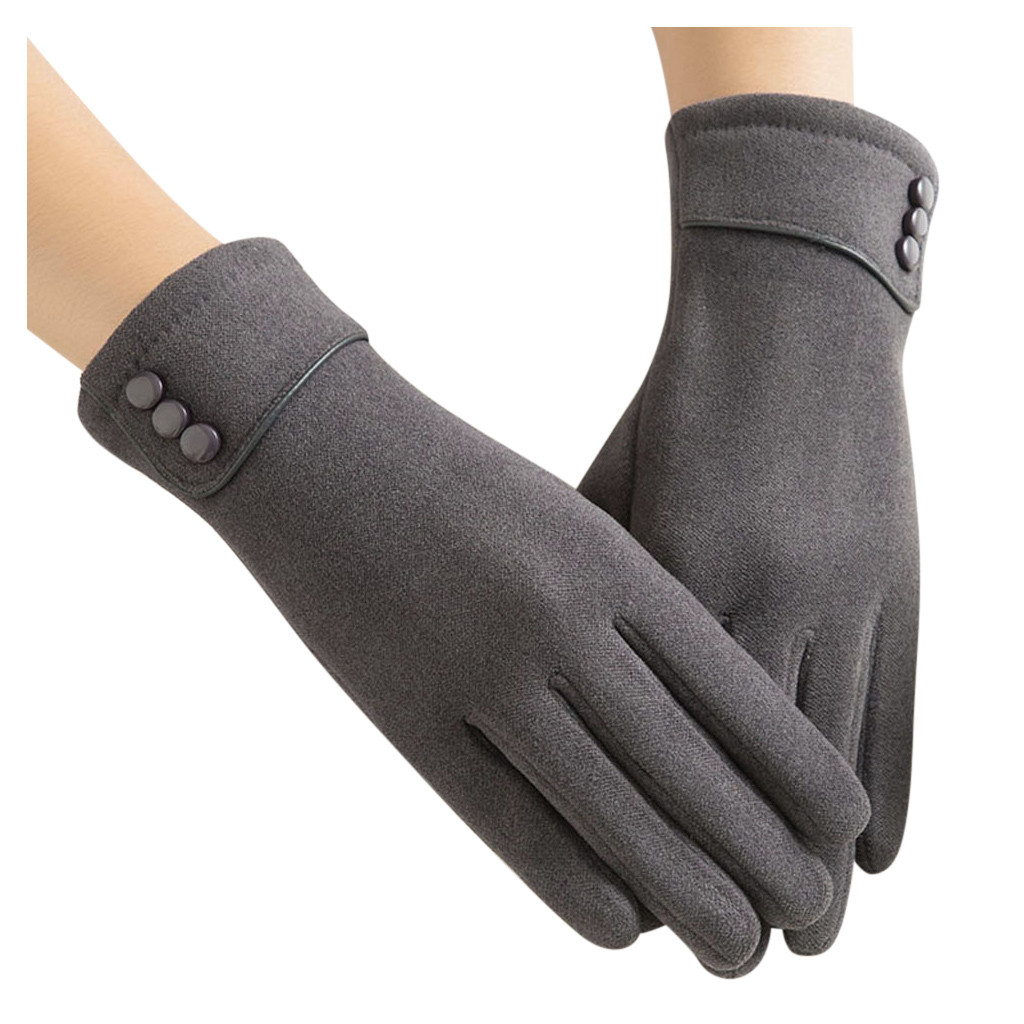 Cashmere Wool Gloves Womens Winter Warm Gloves Wrist Mittens Driving Ski Glove Stylish And Elegant Lady Winter Warm Gloves