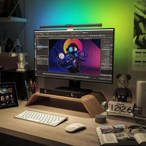 Image 3 - Yeelight مصباح مكتبي قابل للطي مع حماية للعين ، مصباح قراءة USB للكمبيوتر الشخصي ، مصباح معلق ، تحكم عن طريق تطبيق Mihome