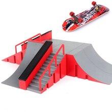 2021 NEW 1pc Mini Skateboard Toy Skate Park For TechDeck Fingerboard Skateboard Ramps Fingerboard Ultimate Park Training Board