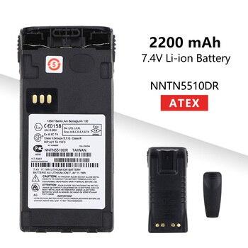 2200mAh Li-ion ATEX External Battery NNTN5510DR For Motorola GP329EX GP339EX PTX760EX GP340 GP380 GP580 GP680 Radios replacement 2200mah 3 7v li ion battery for leagoo lead1 green