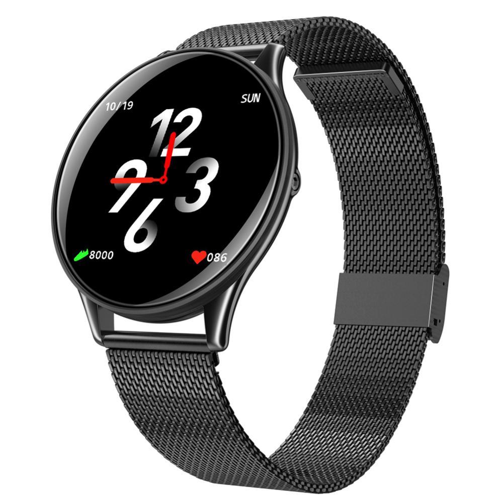 SN58 смарт-браслет часы 1,3 дюймов экран высокой четкости Ультра-тонкий счетчик скорости Сердца шаг одно касание + Кнопка браслет