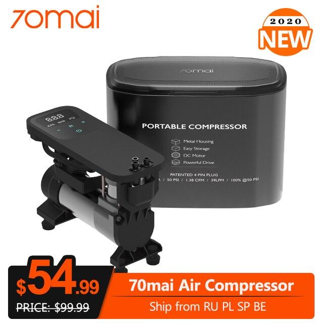 70mai compresseur dair 12V portable électrique voiture pompe à Air Mini compresseur pneu gonfleur pour Auto vélo moto pneu Pumb