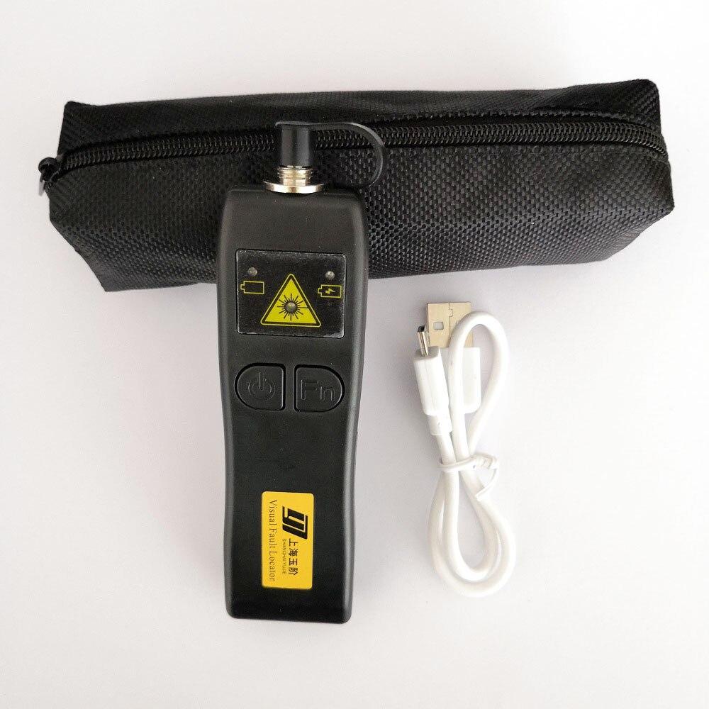 Перезаряжаемый Визуальный дефектоскоп 30 МВт Волоконно-оптическая лазерная указка VFL 50 мВт FTTH кабельный тестер 1 мВт 10 мВт