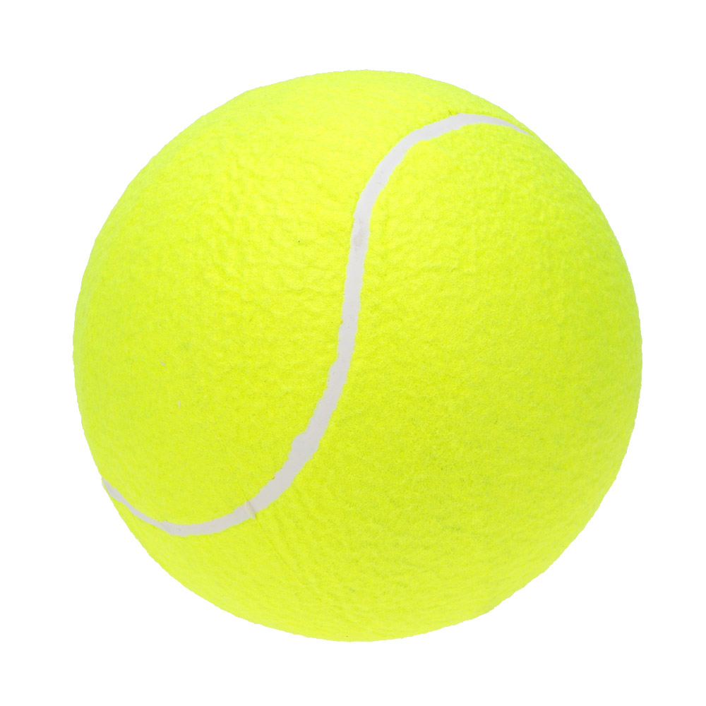 9.5 Inches Dog Tennis Ball Giant Big Inflatable Outdoor Tennis Ball Signature Mega Jumbo Pet Toy Training Ball Pet Chew Toy