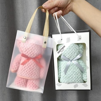 10 sztuk mokrych ręczników z koralowego polaru 35 #215 7 5 cm sztuka w kształcie słodkiego misia może wchłonąć małe ręczniki czysty ręcznik podarunkowy tanie i dobre opinie CN (pochodzenie) 10pPCS