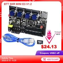 BIGTREETECH SKR מיני E3 V1.2 בקרת לוח 32 קצת משולב TMC2209 UART נהג עבור CR10 אנדר 3 פרו 3D מדפסת חלקי MKS TFT35