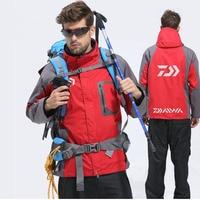 2020 Winter Daiwa Fishing Jacket Two piece Outdoor Clothing Warm Thick Windproof Winter Man Fishing Two piece Coat