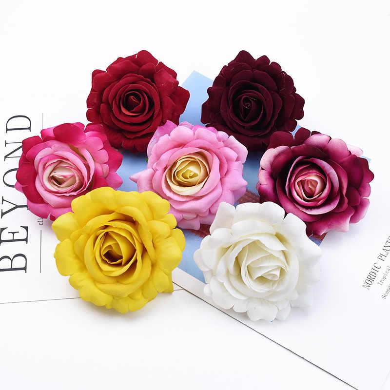 1/5 Stuks Kerst Decoraties Voor Thuis Bruiloft Mvo Decoratieve Bloemen Zijden Rozen Scrapbooking Kunstbloemen Groothandel