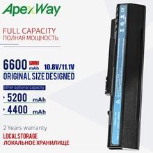 11.1V 6 เซลล์แบตเตอรี่ UM08A31 สำหรับ Acer Aspire One A110 A150 D150 D210 D250 ZG5 UM08A32 UM08A51 UM08A52 UM08A71 UM08A72 UM08A73