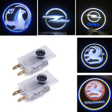 2X Car styling LED Courtesy Lamp Car Door Welcome Lights 12V Projector Logo shadow lamp bulb For Opel Insignia 2018 Accessories