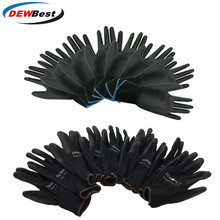 DEWbest gloves new store factory direct work gloves PU material safety protection gloves 12pairs / lot European standard 001 d9