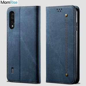 Чехол-бумажник для XiaoMi MI 9 lite, Магнитный чехол-книжка с откидной крышкой для Xaomi MI 9 Pro, 5G, джинсовые кожаные сумки, подставка для карт