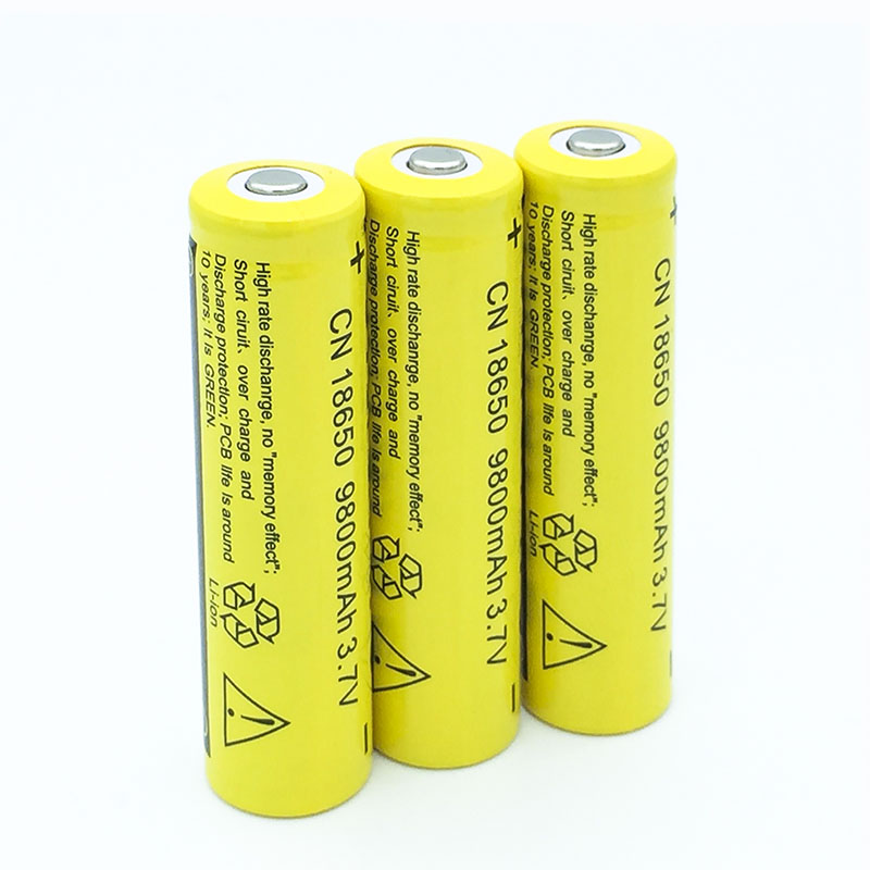 5/6/7/8pcs 18650 Battery 9800mAh 3.7V 18650 Rechargeable Battery Li-ion Lithium Bateria For LED Flashlight Torch Lithium Battery
