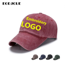 Factory Price! 1Pcs Customized Text/logo/picture Embroidered Baseball C
