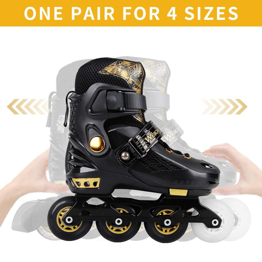 Inline Roller Quad Children Skate Shoes Street Female Male Man SEBA Slalom Skate 4 Roller Skate Inline Skateboard Skate - 4