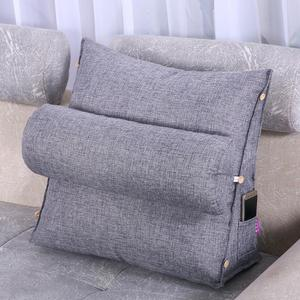 Adjustable Lumbar Cushion Backrest Support Pillow Cushion Home Office Car Sofa Seat Bracket Chair Cushion Sofa Lumbar Cushion