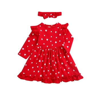 Baby Girl Dress Princess Dresses For Girls Dress Kids Clothes With Bow Headband Infant Toddler Clothing autumn newborn baby dress girls clothes long sleeve plaid princess dresses for infant baby clothing 0 2y toddler girl dress