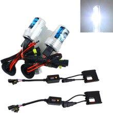 4300K Car headlight 6000K xenon head lamp 8000K H7 H8 H9 H11 hid headlight bulbs with hid ballast 35W xenon ballast black slim hid xenon ballast h8 12000k headlight kit conversion bulbs 35w [ c467]