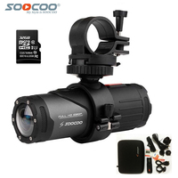 SOOCOO S20WS Action Camera Wifi 170 Degree Wide Lens 1080P Full HD 10m Waterproof Looping Bicycle Helmet Mini Sports Camcorder