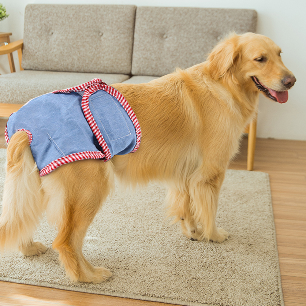 Pet Underwear Pet Dog Puppy Diaper Pants Physiological Sanitary Bow Short Party Nappy Pant Diaper