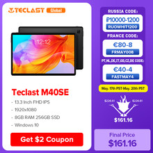 Teclast M40SE 10.1 ''Tablet 1920x1200 UNISOC T610 Octa Core 4GB RAM 128GB ROM 4G netzwerk Dual SIM Android 10,0 Typ-C Docking