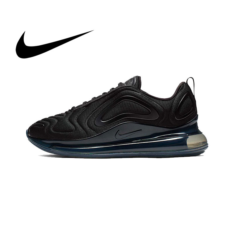 Original Nike Air Max 720 Men Sneakers 2019 New Fashion Fitness Running Shoes Black Leisure Low-top Designer Footwear AO2924-007
