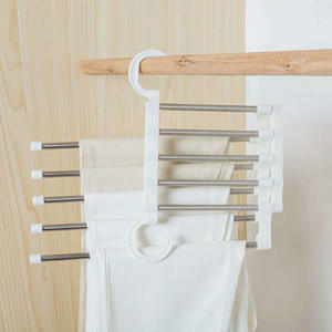Pants Hanger Dry-Rack Multi-Function Save-Space Household-Accessories Stainless-Steel