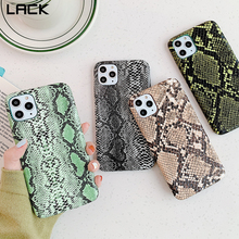 LACK Snake Skin PU Leather Cases For iphone 11 11Pro Max 7 8 Plus X XS Max XR 6 6S Phone Case Crocodile Texture Back Cover Coque-in Half-wrapped Cases from Cellphones & Telecommunications on AliExpress